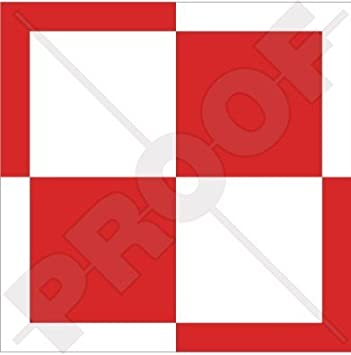 1x poland Air force Roundel vinyl sticker decal