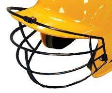 Baseball Helmet Face Mask NOCSAE & ASTM Approved Metal Black Adams USA FM-68 (Helmets Batting Approved Softball)