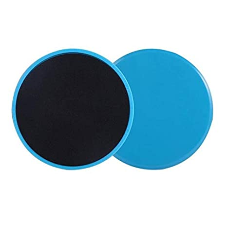 2pcs Gliding Discs Slider Fitness Disc Exercise Sliding Plate Abdominal Core Muscle Training Yoga Sliding Disc Fitness Equipment Sports & Entertainment