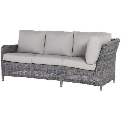 4 Seasons Sofa Indigo 3-Sitzer AL Rechts Rock