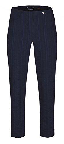 Femme Robell Robell Marine Pantalon Pantalon qPHwUH