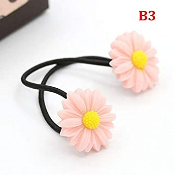 Men's Accessories Womens Flower Ponytail Holders Hair Rope Circle Ring Headwear Hairpin Accessory Attractive Fashion