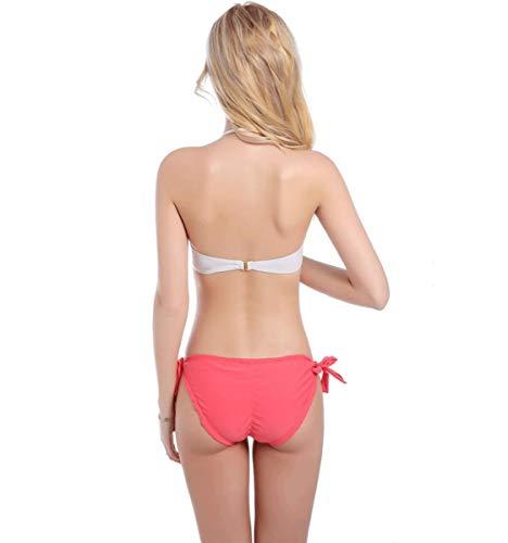 colore bra Qiusa Bikini L ladies Bikini Dimensione Bianco Swimsuit AqnxOa7wn0