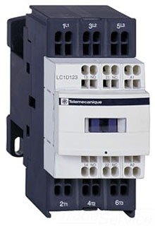 - SCHNEIDER ELECTRIC Contactor 600-Vac 12Amp Plus Options LC1D12T7 Terminal Block Marker Iec