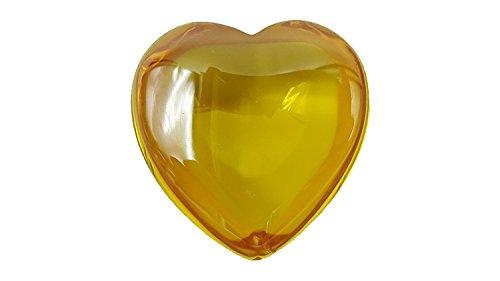 Skyrim Elf Costume (Heart shape Yellow color bring lucky love success naga nagas eye gem natural stone like topaz or amber)