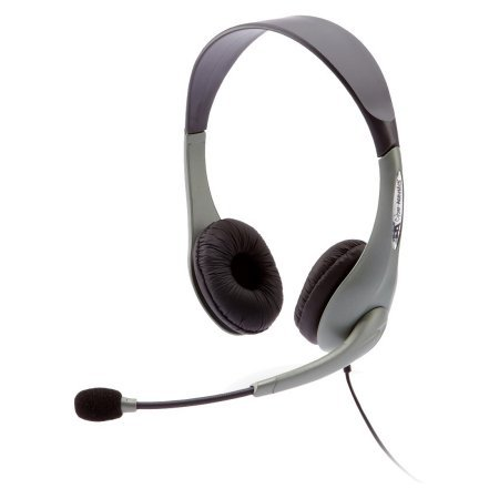 New Cyber Acoustics AC-851B USB Stereo Headset Over-The-Head 180 Degree Microphone Ambidextrous by Cyber Acoustics (Image #6)