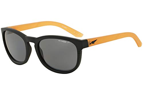 Arnette Pleasantville 4219 Sunglasses  Black Yellow Grey POLARIZED 2323/81 ()