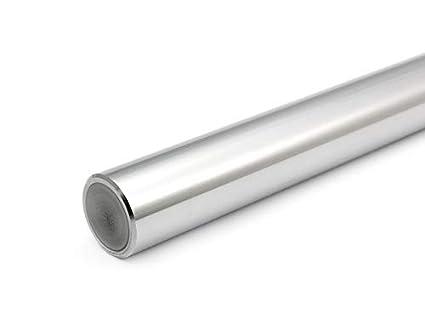 Eje de precisión 20 mm H6 pulido y endurecido, longitudes estándar., 800mm, 0