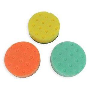 - Detail King Lake Country CCS Buffing/Polishing 4 Inch Spot Buff Foam Pad Set (3 Pads)