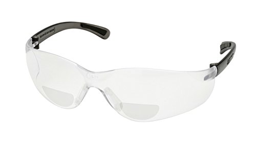 Elvex WELRX450C25 RX-450C-2.5 Diopter Safety Glasses, Clear Lens
