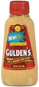 Mustard: Gulden's Spicy Brown