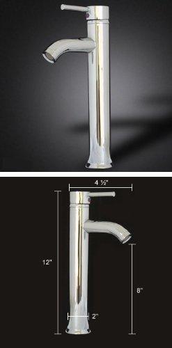 23 Inch Modern Bathroom Vanities Tempred Glass Design Vessel Sink