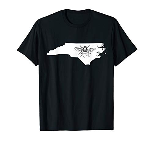 - North Carolina Bee Lover Shirt, Beekeeper TShirt, Beekeeping