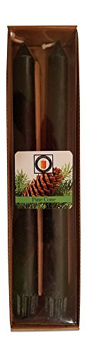 Pinecone Taper (Hubbardston Candle Company 100% Pure Beeswax 10