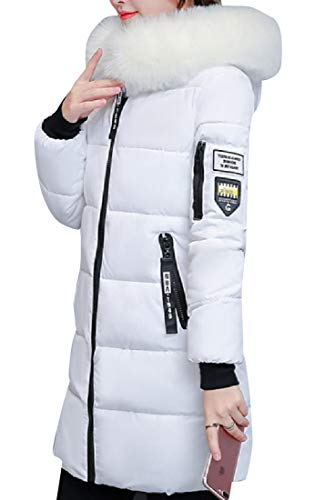 Sottile Morbido Energywomen Piumino Con Tasche Bianche Collare Casuale qvg48wSx