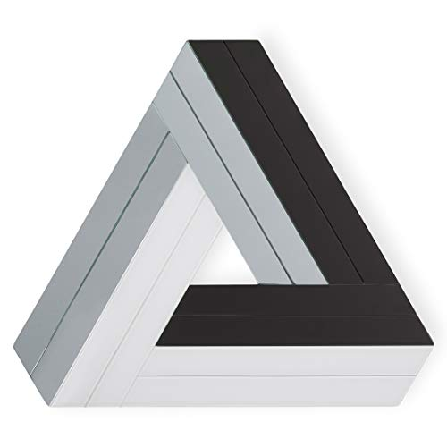 Adler Wall - Now House by Jonathan Adler Triangle Chroma Wall Art, Black