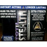 20 Liquid Capsules - Total Stealth Ultra Strength Instant Liquid 20 Oz with Capsules