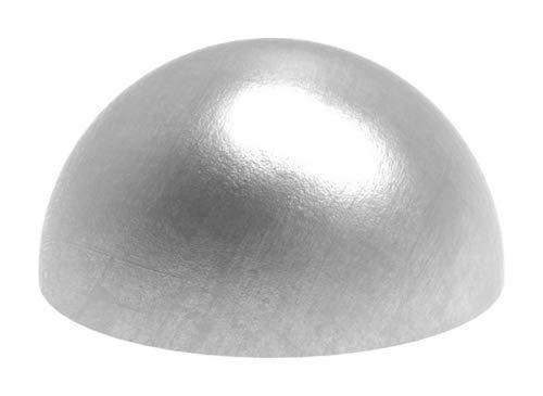 Halbhohlkugel ø 30mm, ungeschliffen, Wandstärke 2,0mm edelstahlonline24