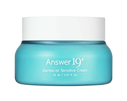 [ANSWER NINETEEN+] THEMOIST SENSITIVE CREAM - Deep Moisturizing, Soothing Effect for The Sensitive Skin. Natural Superfood Ingredients, Panthenol (Vitamin B5), Beta Glucan, Hyaluronic Acid, 70ml