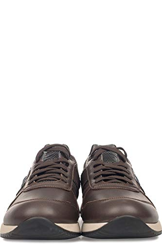 Su77383cax48 Uomo Guardiani Sneakers Pelle Alberto Marrone qwz0Btt