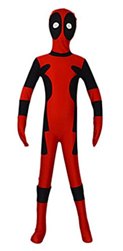 Seeksmile Kids Costume (Medium, (Deadpool Boys Costume)