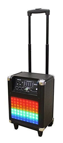 Craig Electronics CHT825 Portable Speaker System with Decorative Color Changing Lights Tube