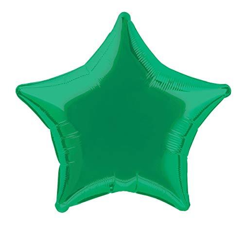 20'' Foil Green Star Balloon