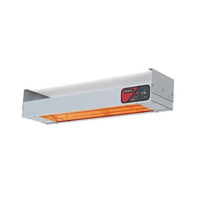 "Nemco 6150-72-D Bar Heater, Strip Type Heat Lamp, 72"" x 13-1/2"" x 2-3/4"", Toggle Switch"