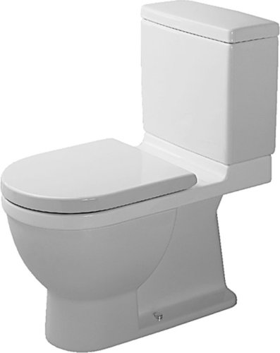 Duravit 2105010000 Starck 3 Two-piece Toilet Bowl, White (Bowl Only ...