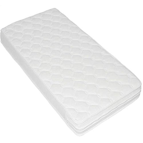 Inspire Baby Toddler COT Crib Bed Breathable Quilted and Waterproof Foam Mattress Size 89 X 42 cm