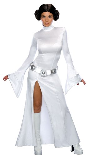 888610 (M) Sexy Princess Leia Dress Secret Wishes Star (Princess Padme Costume)