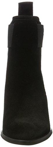 Armani Jeans Damen Prise De Chaussure Bottes Chelsea Schwarz (noir)