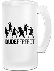 Dude Perfect Frosted Glass Pub Big Beer Cup - 500ML