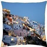 White Houses on Mountain - Throw Pillow Cover Case (18