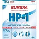 Genuine Eureka HP-1 Filter and Dust Bag 62423 - 3 bags, 1 filter