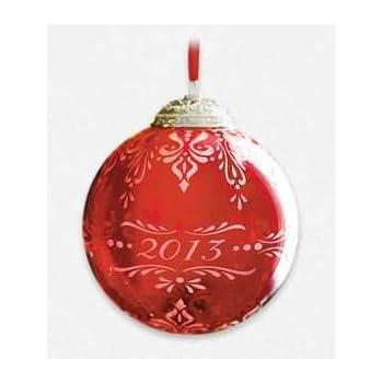 Amazon.com: Christmas Commemorative Ball Ornament #1 ...