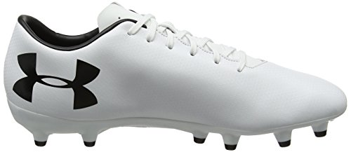Under Armour Ua Force 3.0 Fg, Botas de Fútbol para Hombre Blanco (White 100)