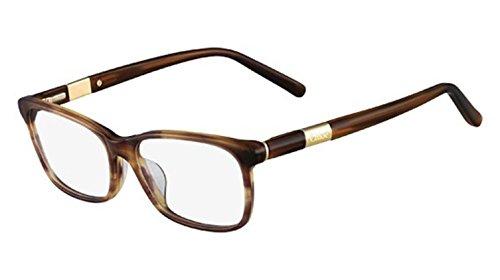 - Eyeglasses CHLOE CE 2628 203 STRIPED TOBACCO