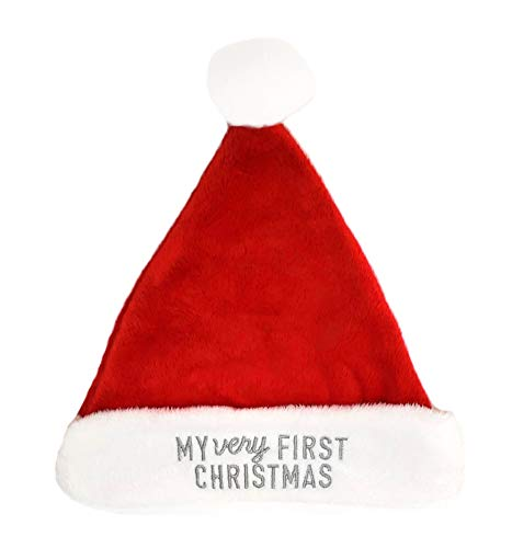 Carter's Baby My Very First Christmas Santa Hat (3-9 Months) Red/Ivory (First Christmas Hat Baby)
