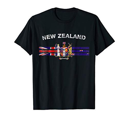 New Zealand Flag Shirt - New Zealand Emblem New Zealand ()