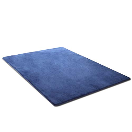 Price comparison product image Dxj Coral Carpet Living Room Sofa Coffee Table Bedroom Rug Tatami mat Computer Desk mat Chair Floor mat Fitness and nap mats (Color : 140CM200CM)