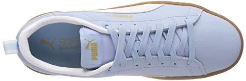 Puma White Donna puma VT Smash 01 Ginnastica Platform Cerulean Blu da Basse Scarpe rqrZHxR
