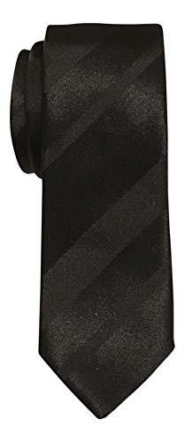 Dolce & Gabbana Slim Satin Black Striped Tie (Dolce & Gabbana Striped Tie)