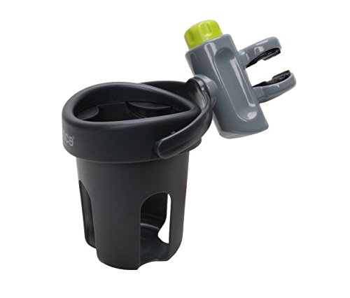 Toy / Game Brica Drink Pod, Gray with Self Adjusting Cup Holder, Top-rack Dishwasher Safe, And Safety Knob by Brica (Image #1)