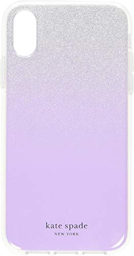 Kate Spade New York Women's Glitter Ombre Phone Case for iPhone Xs Frozen Lilac One - Color Ombre Iphone Case 6