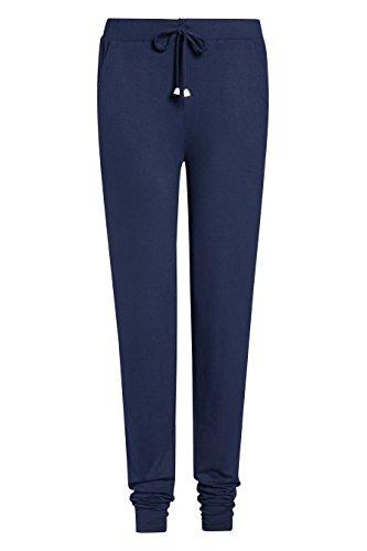 next Mujer Pantalones De Chándal Punto Reg/Largo Azul Marino