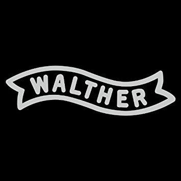 Walther Fireams Logo - Vinyl 8