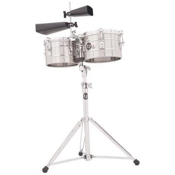 Latin Percussion LP272-S Timbal Stainless Steel