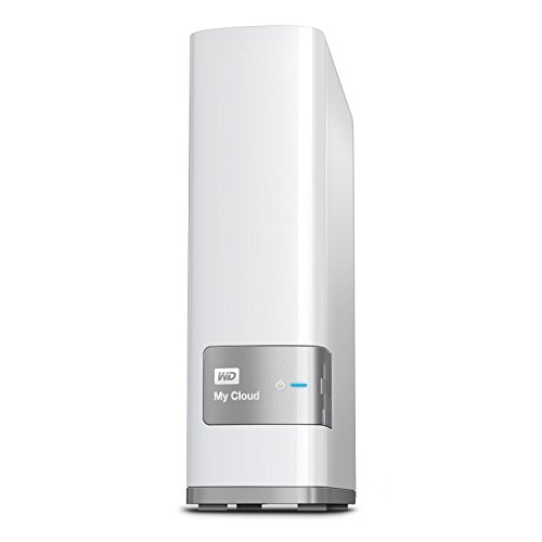 WD 4TB My Cloud Personal Network Attached Storage - NAS - WDBCTL0040HWT-NESN (Renewed) (Best Nas Storage For Mac)
