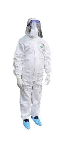 Prisma Collections PE Kit Medical Disposable Protective Coverall Suits for Ward/Hospital/Laboratory (Pack of 7 items) Price & Reviews